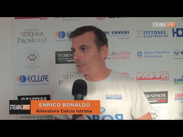INTERVISTA A ENRICO BONALDO - Allenatore Calcio Istrana