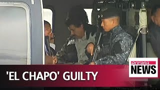 Mexican drug lord Joaquin Guzman found guilty in U.S. court