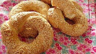 #турецкая#кухня #выпечка.Турецкий симит! Готовит турецкая секровь.Турецкая выпечка.