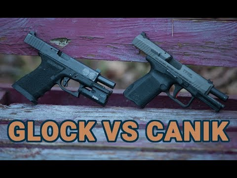 Glock19 vs Canik TP9SF Elite in EDC Matchup