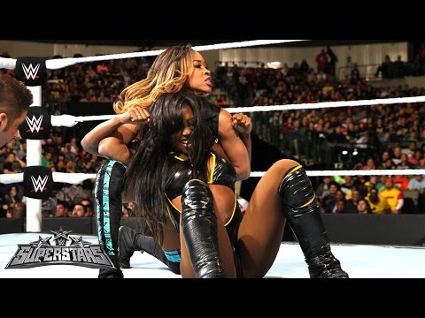 Naomi vs. Cameron: WWE Superstars, January 23, 2015
