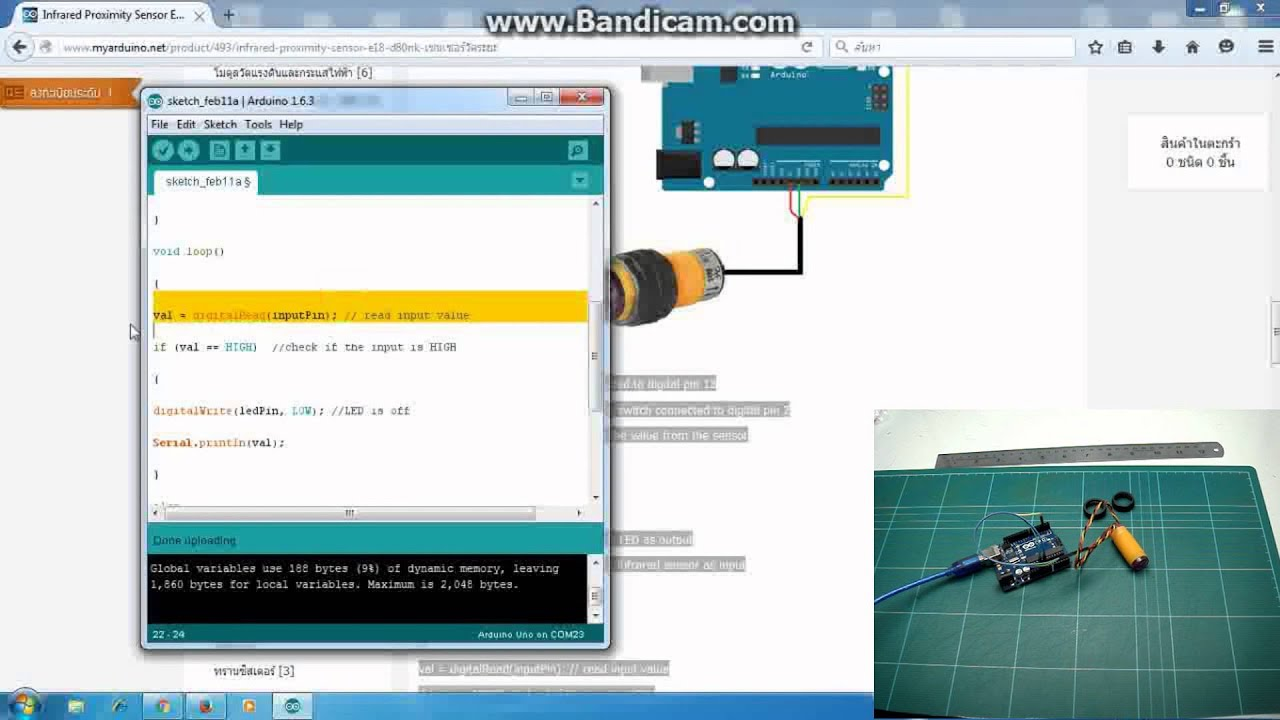 Infrared E18d80nk With Arduino Sensor Tutorial Electronics Touch Switch Module For Rees52 Proximity E18 D80nk