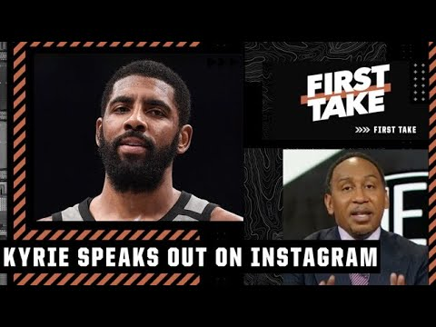 Stephen A. reacts to Kyrie Irving's Instagram Live about his stance on the vaccine   First Take