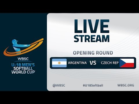 Argentina v Czech Republic - U-18 Men's Softball World Cup 2020 - Opening Round