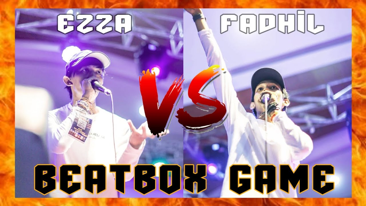 EZZA vs FADHIL | BEATBOX GAME (Part 1)