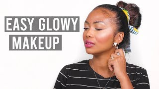 HOW TO GET FRESH GLOWY SKIN WITHOUT FOUNDATION | Tutorial for beginners