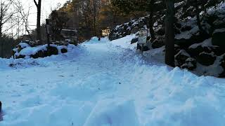child fun in Japanese Onsen Ryokan in Winter