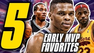 5 Early Favourites For the 2016/2017 NBA MVP Award!! | Way Too Early NBA Predictions