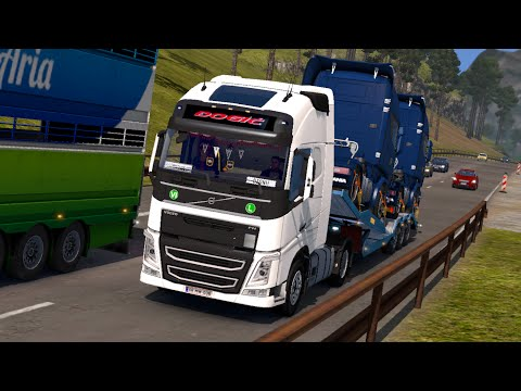 Euro Truck Simulator 2/SRB-CRO-BIH Gameplay/Djogic Transport-Girl driving