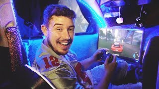 Video I Spent the Night in a Gaming Car with My Girlfriend & It Was Actually Awesome! (BEST GAMING SETUP) download MP3, 3GP, MP4, WEBM, AVI, FLV Oktober 2018