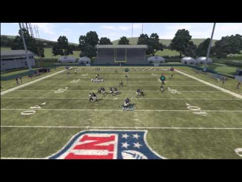 Madden 12 Elite Offensive Strategies Tips ( Manual Bump and run Coverage