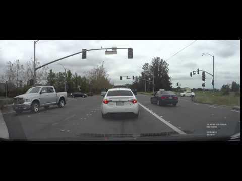 Typical Santa Rosa driver