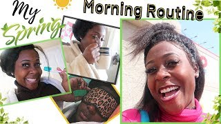 My Spring Morning Routine + Vlog