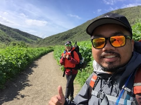 Backcountry Camping - Crystal Cove State Park