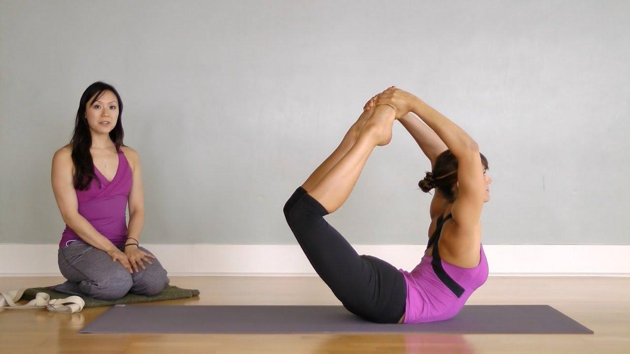 Hatha Yoga Big Toe Bow Pose (Padangustha Dhanurasana) - YouTube
