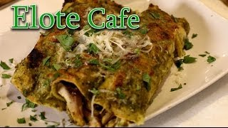 Smoked Chicken Enchiladas  - Elote Cafe Style