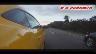 Civic Si Black Bull Vs Camaro SS (Versão Americana 426hp) 0 a 250Km h..