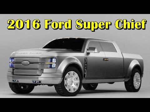 2016 Ford Super Chief Picture Gallery
