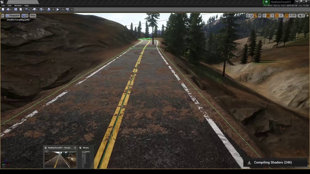Realistic Forest Pack - Road and Procedural Foliage (Biome) | Unreal Engine  4 Marketplace