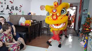 Lion dance 2019 Singapore Wen Yong lion dance troupe Part 1