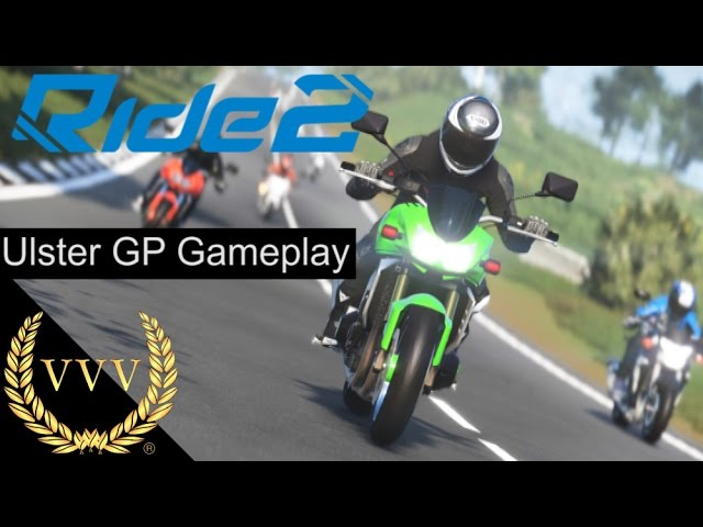 Ride 2 Ulster GP Gameplay