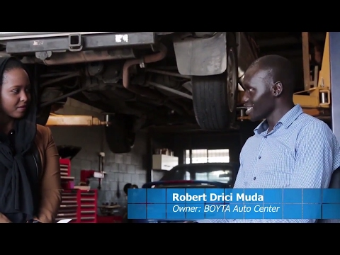 Entrepreneurs of Africa with BOYTA Auto Center- mechanic |EP6S1