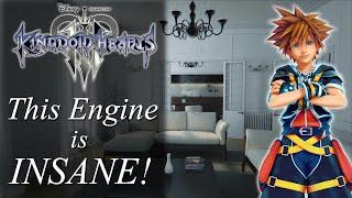 Kingdom Hearts 3 - The Unreal Engine 4 Looks Incredible!