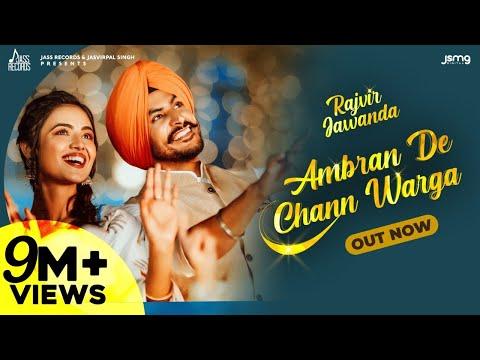 Ambran De Chann Warga(Official Video) Rajvir Jawanda | Mixsingh | New Punjabi Songs 2021Jass Records