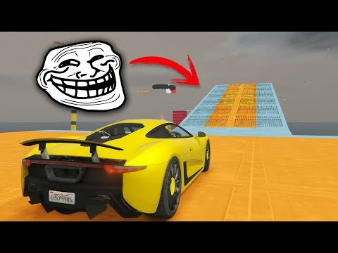 CARRERA TROLL CON TURBOS IMPOSIBLES EN GTA V ONLINE (FINAL)
