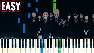Hokage Funeral Theme (Naruto)   Piano Tutorial   EASY/MED