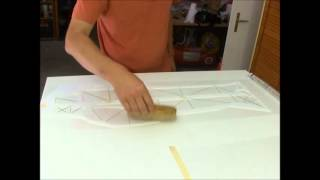 Repeat youtube video 2013 how to perfectly apply mylar on F3P model   you toube
