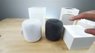 Apple Homepod Review and Unboxing 2018