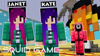 We played Squid Gąme on Minecraft! (All 6 Games)