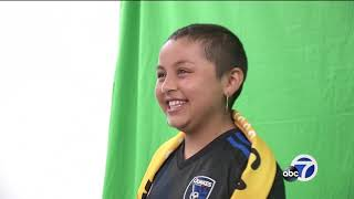 San Jose Earthquakes fulfilling young girl's dream of being team captain