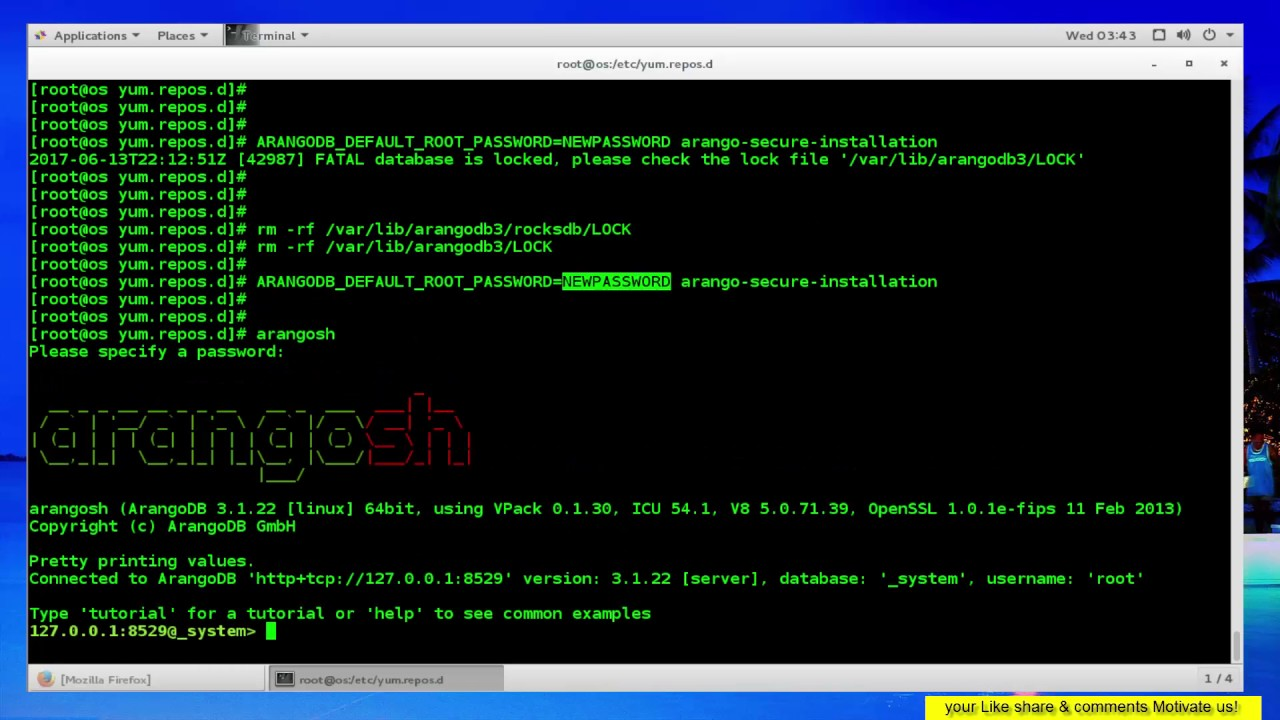 How to Install and Configure ArangoDB on CentOS 7