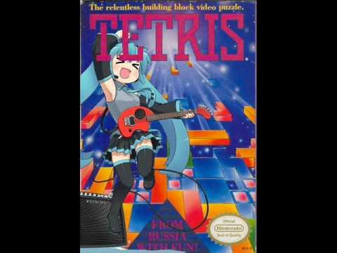 Vocaloid Hatsune Miku Tetris Theme (・ω・)