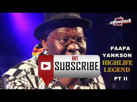 Paapa Yankson Highlife Classics Performed by VIM International Band pt II [Audio Slide]