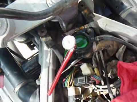 Overheating Problem on Yamaha Motorcycle  YouTube