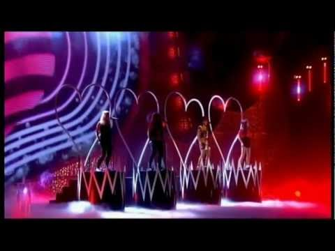 Little Mix - Don't Let Go (Love) (Live @ National Television Awards 2012)