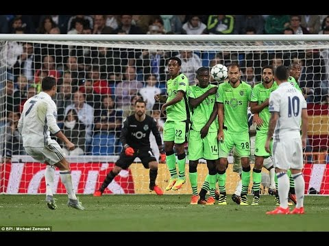 Real Madrid vs Sporting Lisbon 2-1 - Full Highlights - 14/09/2016 HD