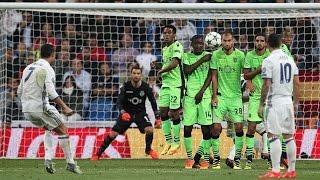 Real Madrid vs Sporting Lisbon 2-1 - Full Highlights - 14/09/2016 HD