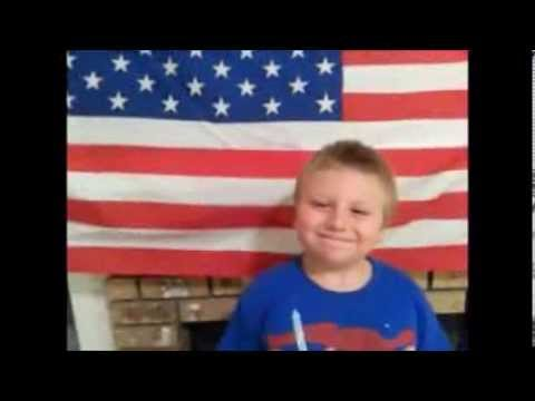 UNITED STATES Flag facts With 6 Year Old Chris