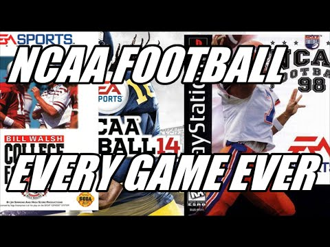 NCAA FOOTBALL EVOLUTION HISTORY (1993 - 2013)