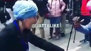 Punjabi dance by foreigners