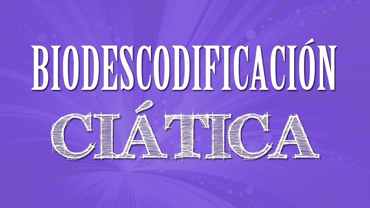 Dolor ciatico derecho biodescodificacion