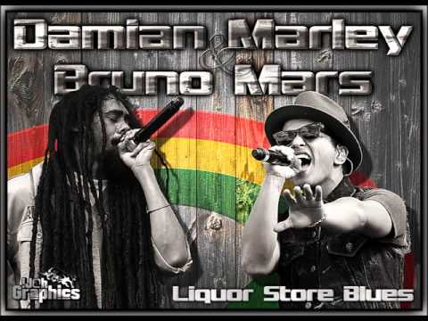 Bruno Mars Ft. Damian Marley - Liquor Store Blues
