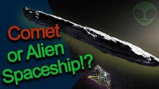Is Oumuamua an Alien Spacecraft?