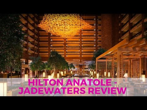 TRAVEL: Hilton Anatole Staycation - Jade Waters Review - DALLAS, TX