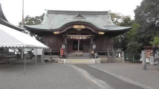 高知県四万十市 一条神社(土佐一条氏中村御所跡)