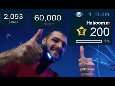 60000 Trophies Unlocked by Hakoom